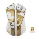 Зображення Миша G-Cube GLPS-310G Paint Splash Gold (GLPS-310 G)