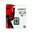 Зображення Карта пам'яті Kingston microSDHC 8 GB Class 4 no adapter (SDC4/8GBSP)